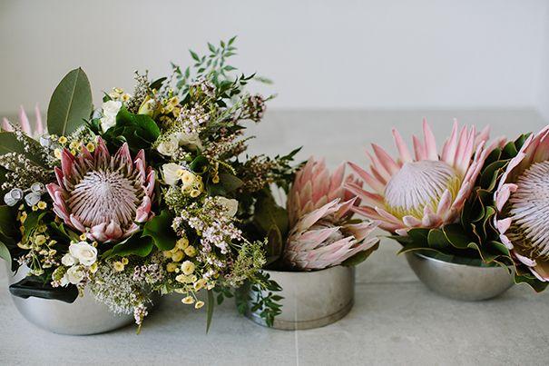 SARAH + BOYD // #australian #natives #protea #foliage #byronbay #flowers #newsouthwales #bouquet #bride #bridal #photographer