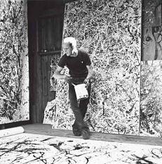 jackson pollock painting - Google Search