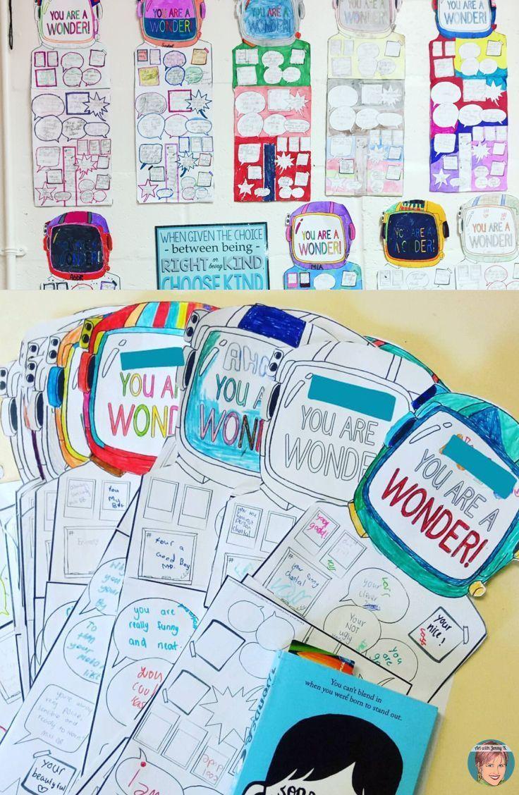 Wonder Freebie Wonder Kindness Poster Wonder Activities