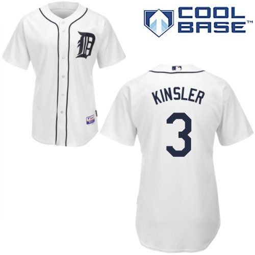 Ian Kinsler Detroit Tigers Home Authentic Cool Base Jersey by Majestic – Detroit Sports Outlet