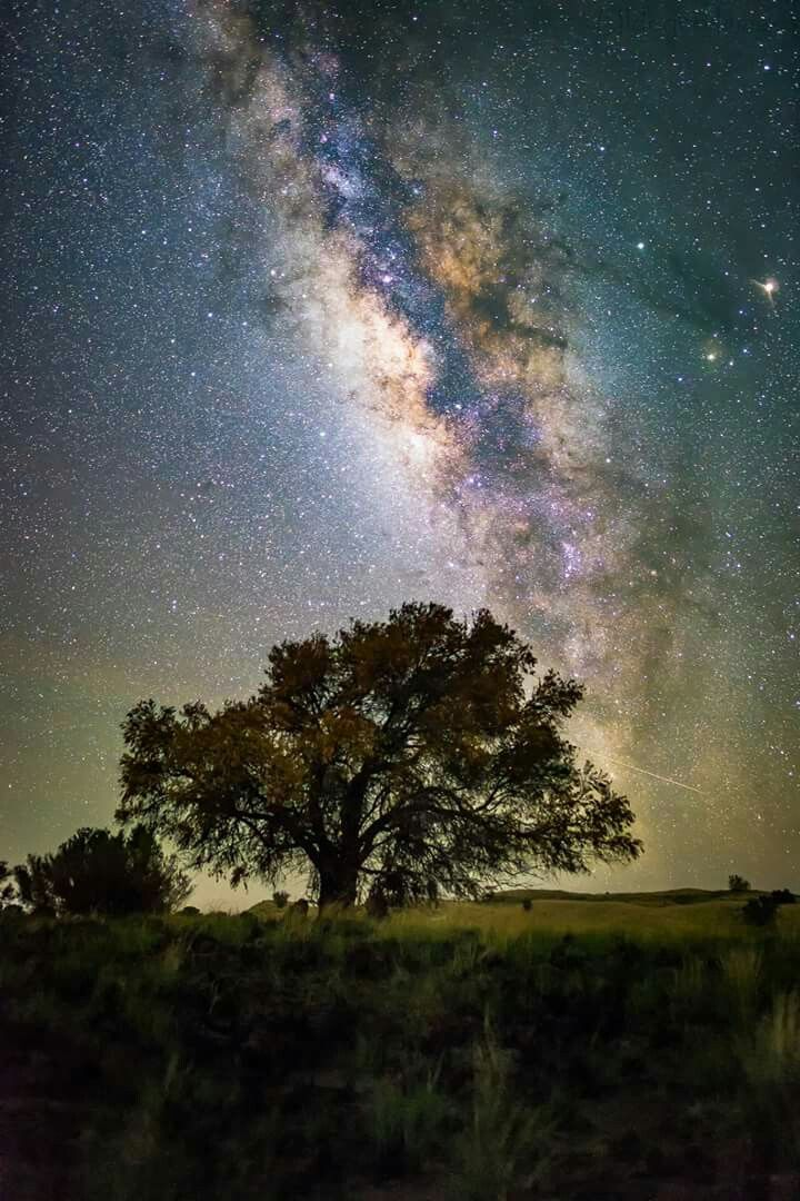 A Arm Of The Milky Way As Seen From Hawai'i,The Big Island.Beautiful,Isn't It?!
