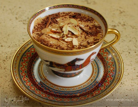 Бананово-кофейный десерт