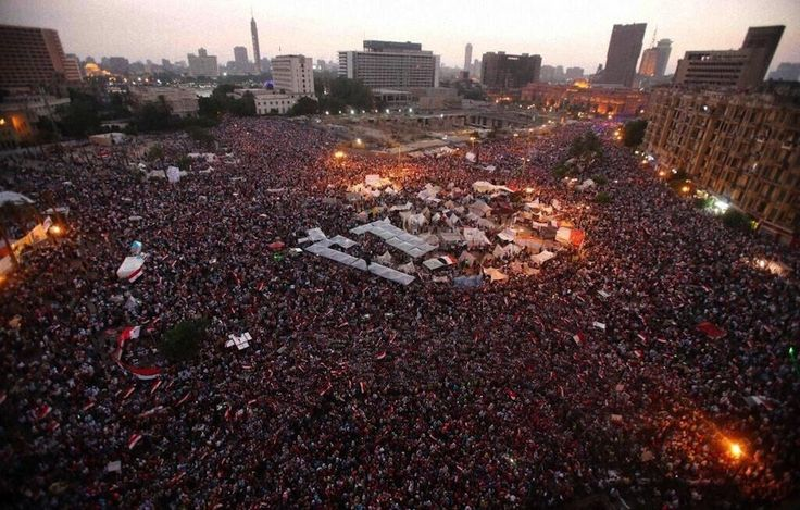 Metaphoric :) RT Wow. | This Is Tahrir Square RightNow