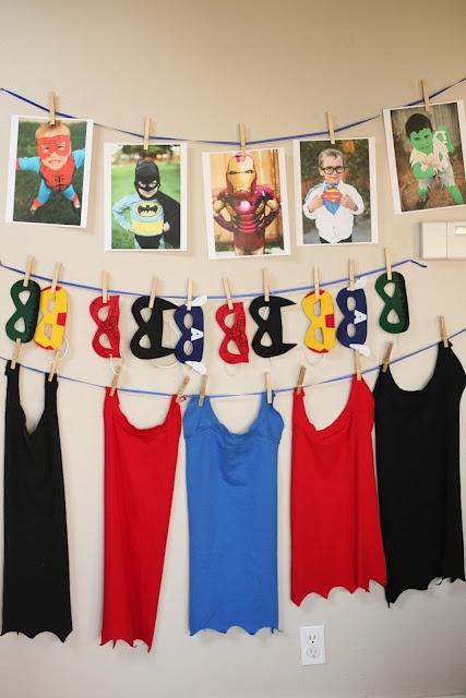 Fiesta de superhéroes. Ideas que nos encantan. Inspiration