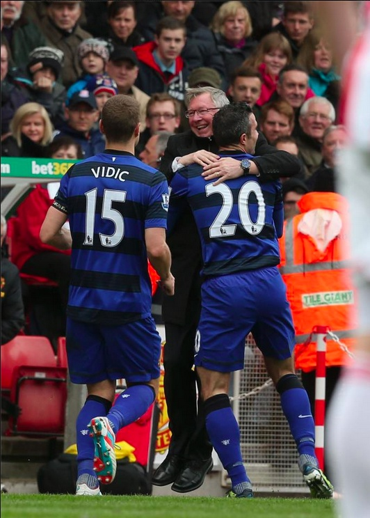 Happy RVP = Manchester United Forever