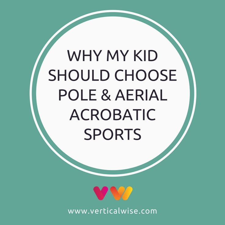 """My kid wants to try something different. I heard that pole fitness and aerial acrobatic sports are suitable for children and there are schools with kids' classes. Should we give it a try?"". A typical parent response on hearing this kind of sporting activity for their child."