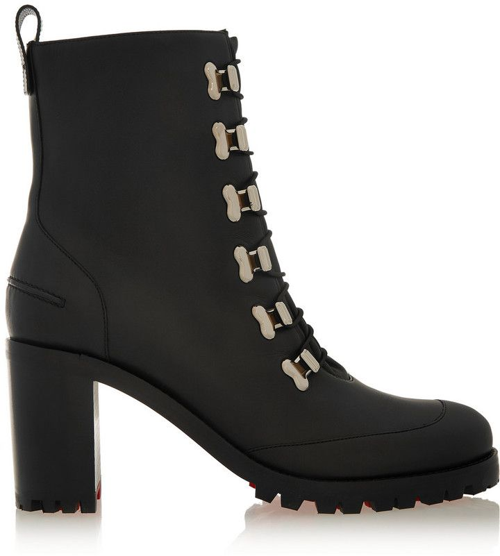 Christian Louboutin Country Croche 70 Leather Boots. Christian Louboutin\u0027s  \u0027Country Croche\u0027 boots are