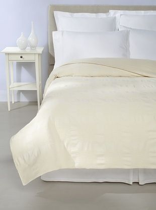 Coyuchi Lattice Coverlet (Ivory)