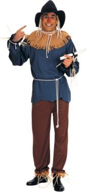 Wizard of Oz Scarecrow Costume for Adults - Party City