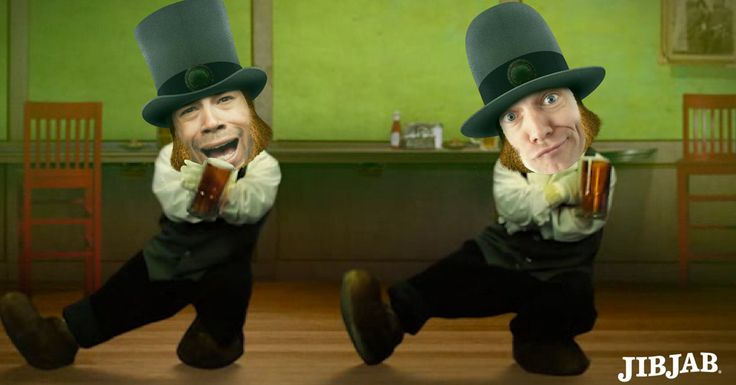 Hilar-Irish  Time to cast friends in hilarious St. Patrick's Day videos with JibJab!