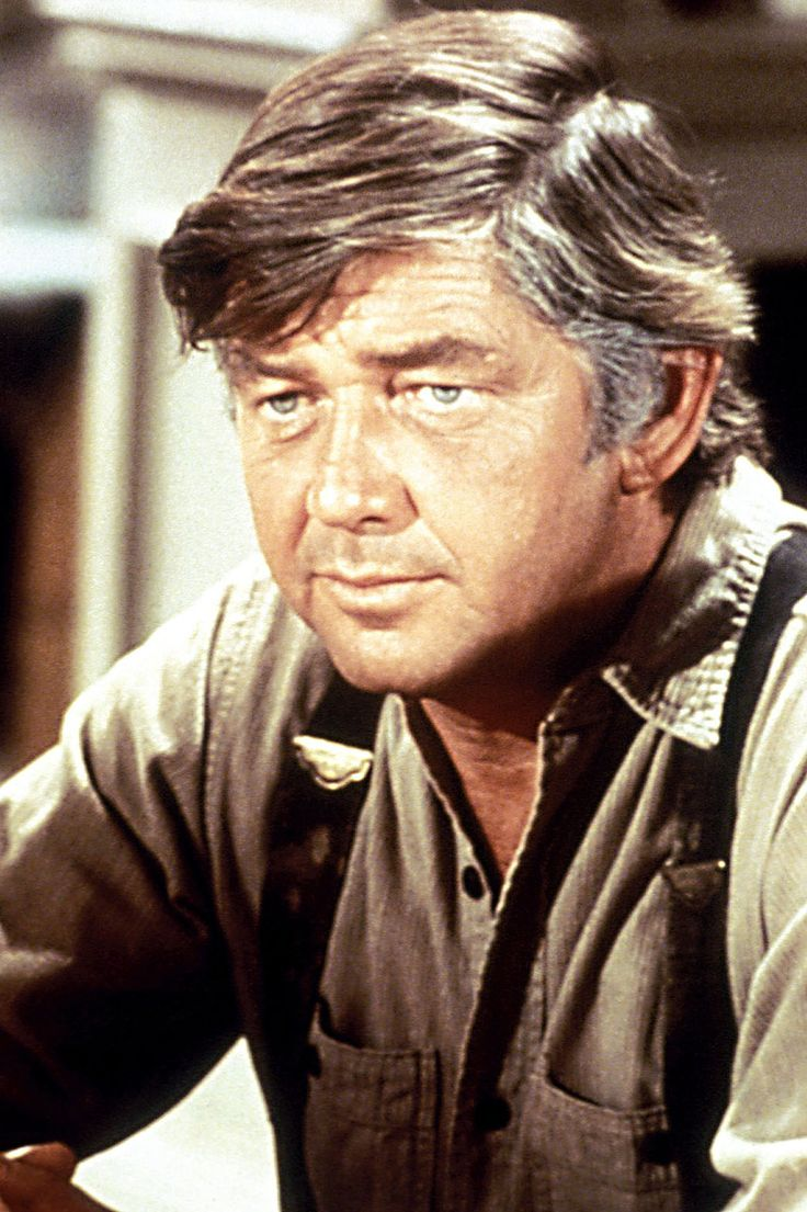 """Ralph Waite - American actor and director. An acting assignment to """"pick up a couple of bucks"""" turned into a nine-year job for Mr. Waite on one of America's most popular television series. #WaltonsDaddy Survived by his wife, Linda East (married, 1984), and his two daughters, Kathleen and Suzanne. He was 85. (February 13th)"""