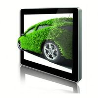 Indoor wall mount lcd monitor android full hd 1080p media player
