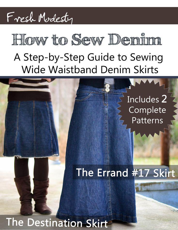 Fresh Modesty: Wide Waistband eBook!!