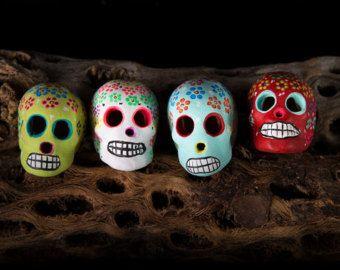 Alte mexikanische Keramik Lebensbaum Kandelaber von MidModMomStore