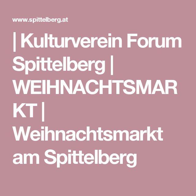 | Kulturverein Forum Spittelberg | WEIHNACHTSMARKT | Weihnachtsmarkt am Spittelberg
