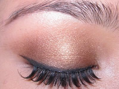LOOK: Antiqued Gold & My FIRST MAC Makeover!! | ** The Skin and Beauty Blog **