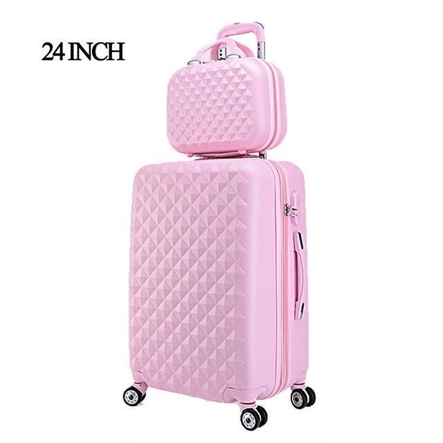 Hard Shell Travel Luggage Trolleys Cases Hand Suitcase 20/'/'24/'/'28/'/' Ryanair