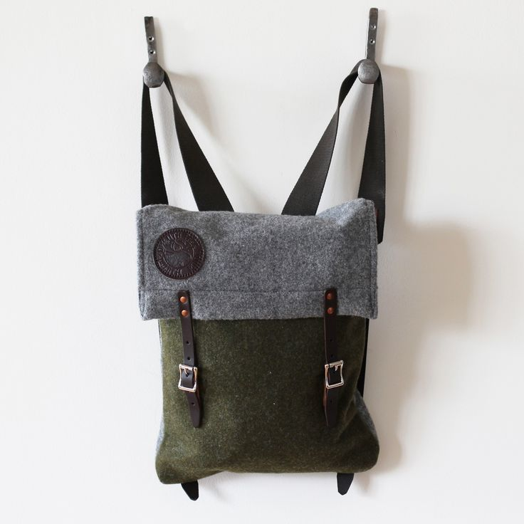 Duluth Pack Scout Pack - Olive/Gray