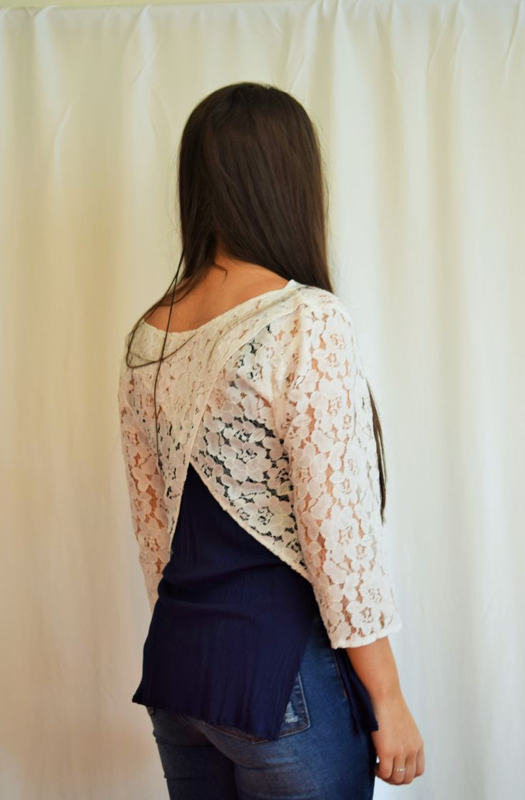 Carnaby Top - Lace