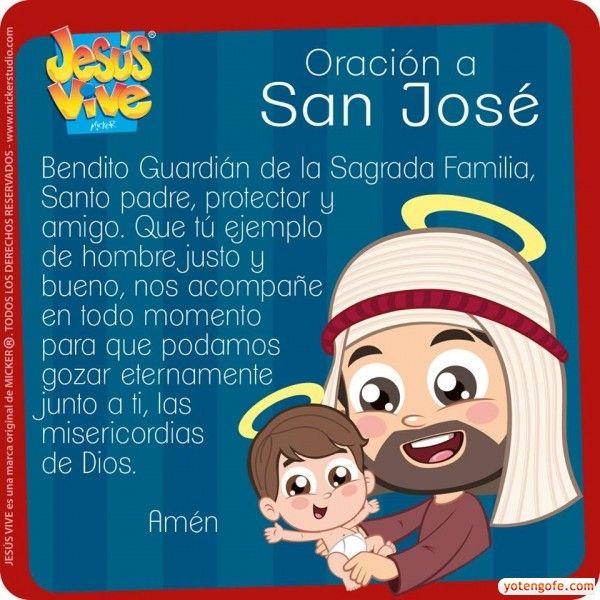 Oracion a San Jose - Bendito Guardian de la Sagrada Familia