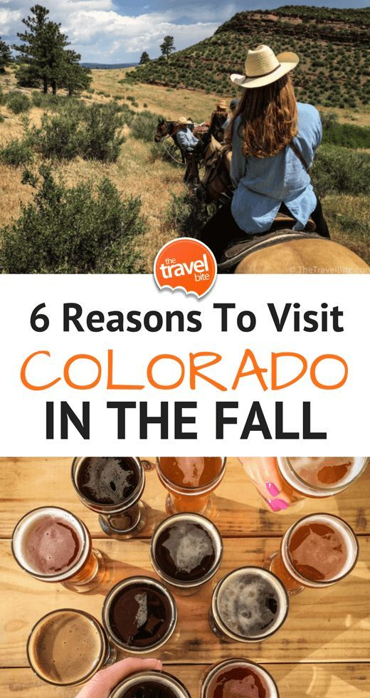 6 Reasons To Visit Colorado's Front Range In The Fall ~ http://thetravelbite.com: http://thetravelbite.comdestinations/north-america/six-reasons-visit-colorados-front-range-fall/