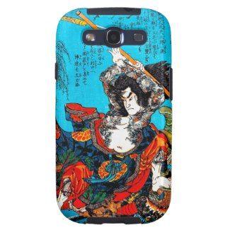 Legendary Suikoden Hero Warrior Jo Kuniyoshi art Galaxy SIII Cases #case #tattoo #suikoden #hero #warrior #jo #kuniyoshi #art #classic #japanese #oriental #Japan #samsung