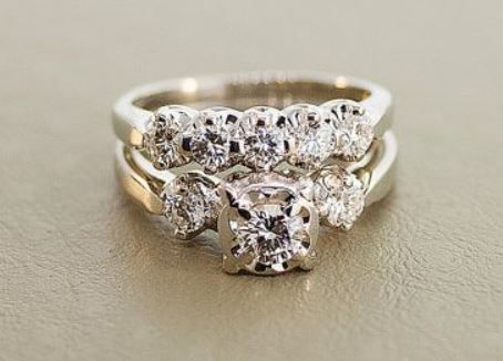 107 Best 1940 S Wedding Rings Images On Pinterest Jewels And Ruby