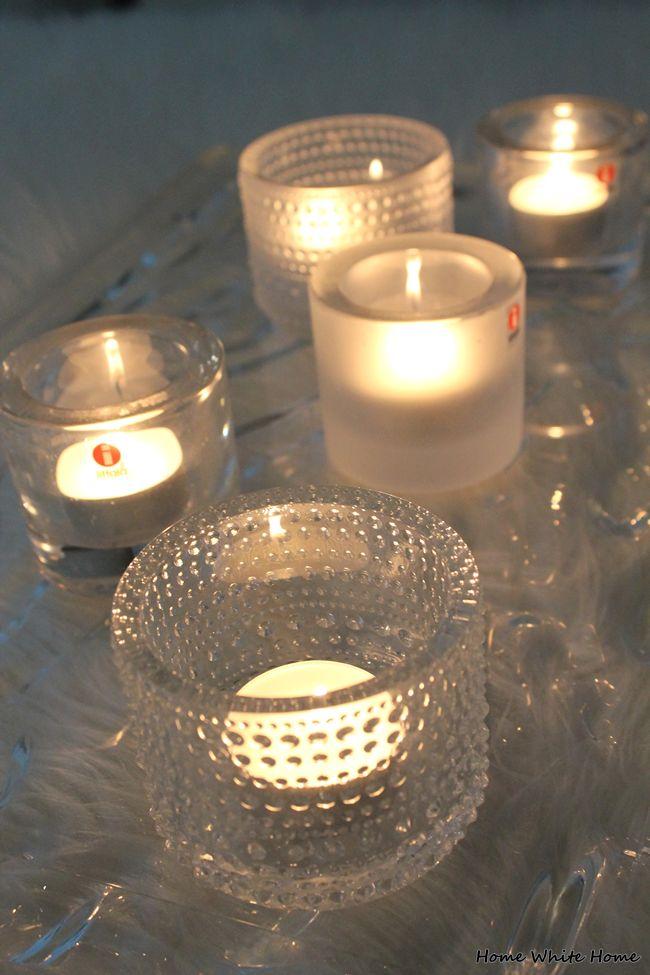 Candles & Kartell Dune - Home White Home -blog