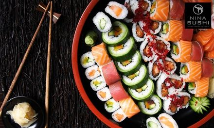 Saveurs japonaise pour 1, 2 ou 4 - Restaurant Nina Sushi (Levallois) à Levallois Perret