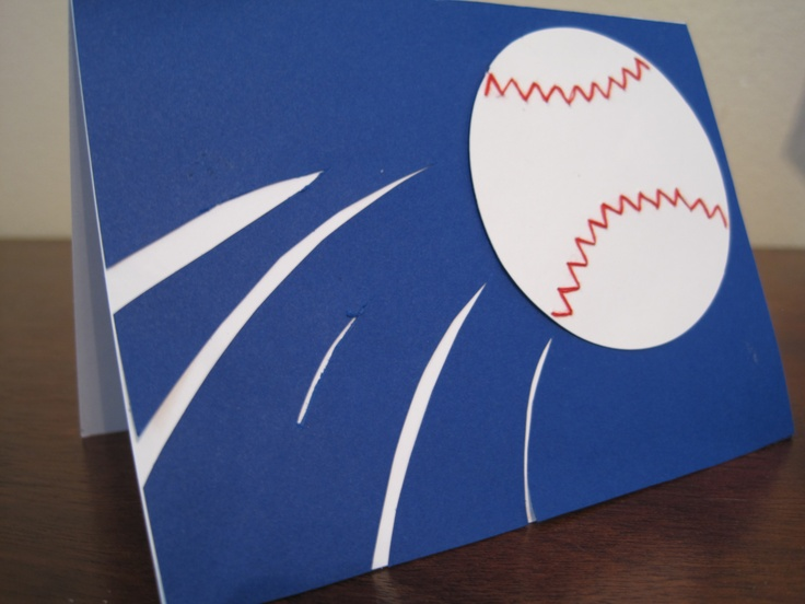 22 best handmade greeting cards images on pinterest greeting cards baseball birthday card i make for my brother in law a huge yankees bookmarktalkfo Gallery