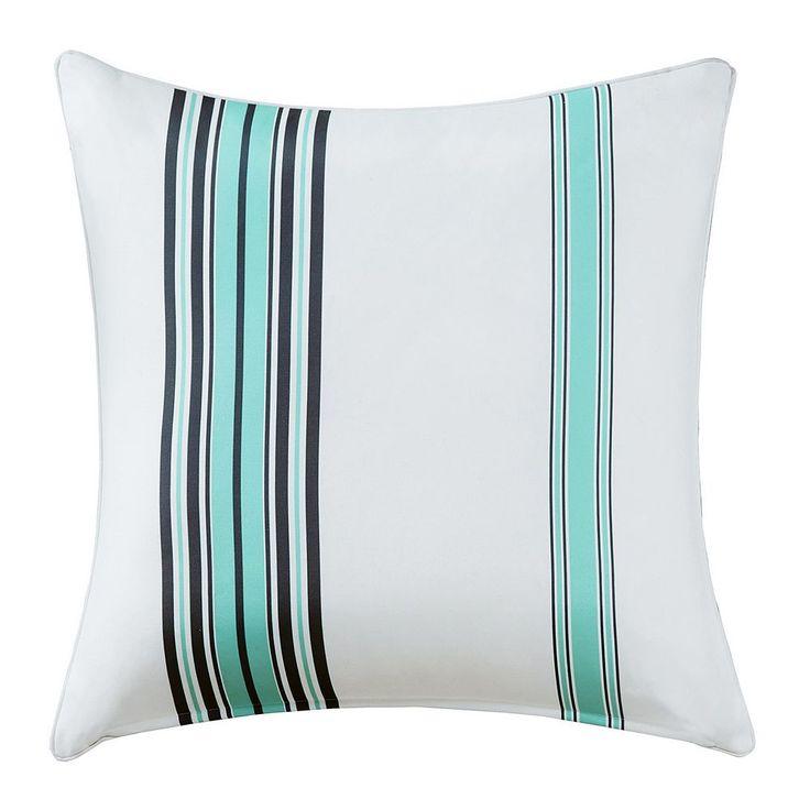 Madison Park 3M Scotchgard Outdoor Large Throw Pillow, Blue
