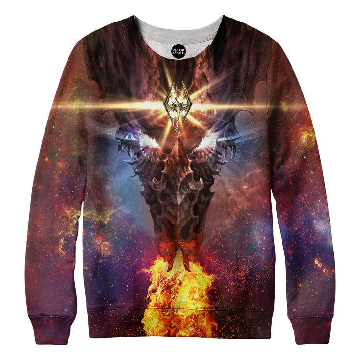 Skyrim Dragon Sweatshirt