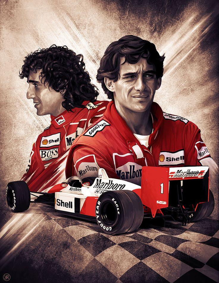 Prost vs Senna                                                                                                                                                                                 Mais