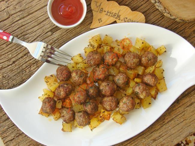 Fırında Patates Köfte Resmi