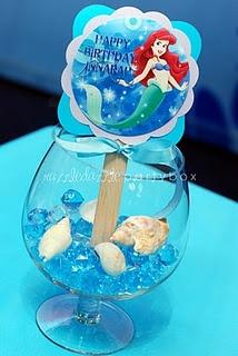 Theme Birthday Party: Little Mermaid