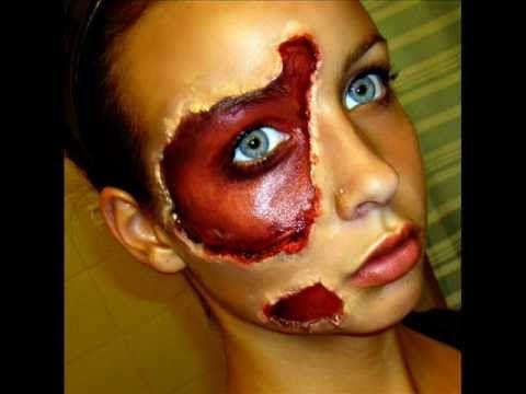 Halloween Series: Exposed Skin Tutorial