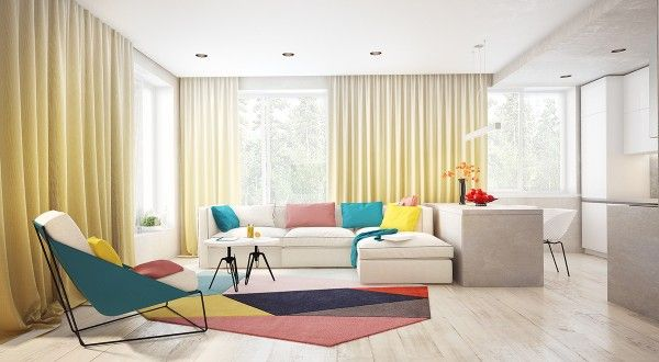 Four Interiors by Juliya Butova   Home Designing