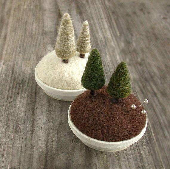Evergreen - Woodland Fir Tree Pincushion
