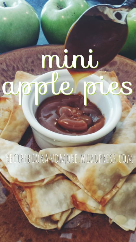 Hurray for apple orchard season! Mini Apple Pies - perfectly baked in won ton wrappers. Just a few simple ingredients but tons of awesome fall flavor!
