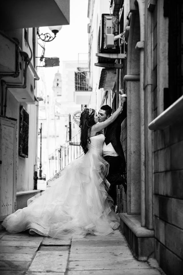 Www.fotozee.nl picture italian wedding puglia vieste italy