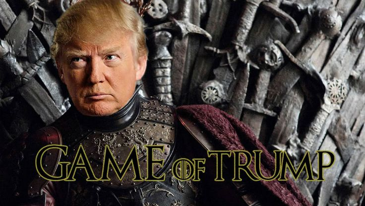 "George RR Martin compares Trump to King Joffrey ""He's grown up just as petulant & irrational as he is in the books"""