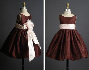 Нарядное платье для девочек выкройка