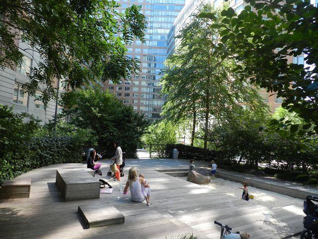 mamooo.pl | Z dzieckiem wśród natury: Z cyklu: Naturalne place zabaw - Park Teardrop w Nowym Jorku