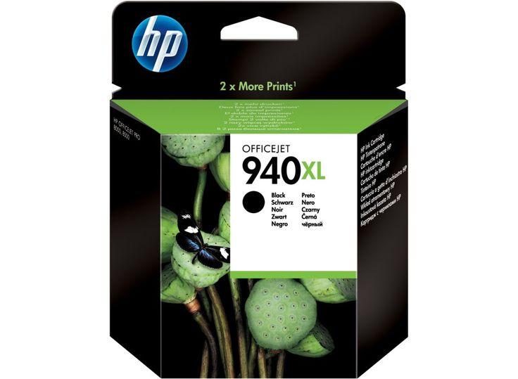 Tinta Printer HP 940XL Black Ink Cartridge Original dengan harga termurah Rp 388.000,- dan bergaransi Resmi serta bisa dibeli secara eceran dan grosir