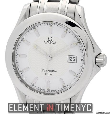 Omega Seamaster Stainless Steel 36mm 120 M Quartz Ref. 2511.31.00 Price On Request