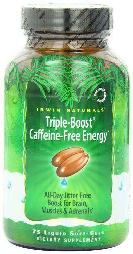 Irwin Naturals Triple Boost Dietary Supplement Caffeine Free Liquid Gel Caps, 75-Count Bottles (Pack of 2)   Multicityhealth.com  List Price: $43.00 Discount: $10.02 Sale Price: $32.98