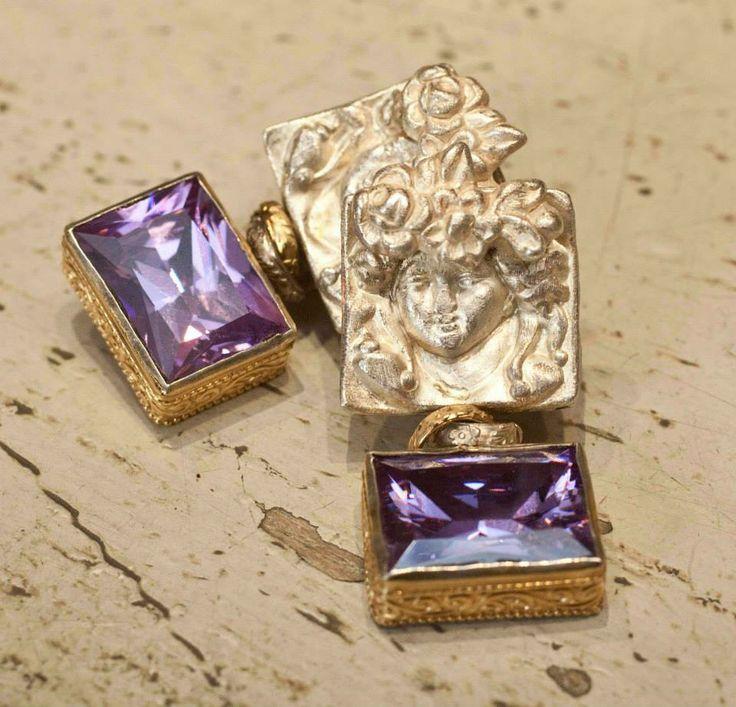 We love purple! #colours #gioielli #orecchini #silver #accesories #madeinitaly #italianbeauty