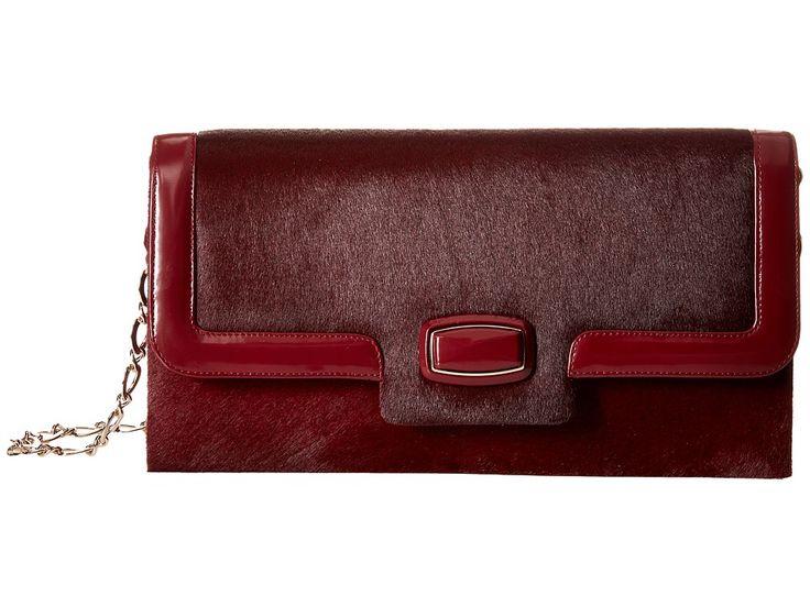 Image of Oscar de la Renta - Day To Evening (Bordeaux Pony) Handbags