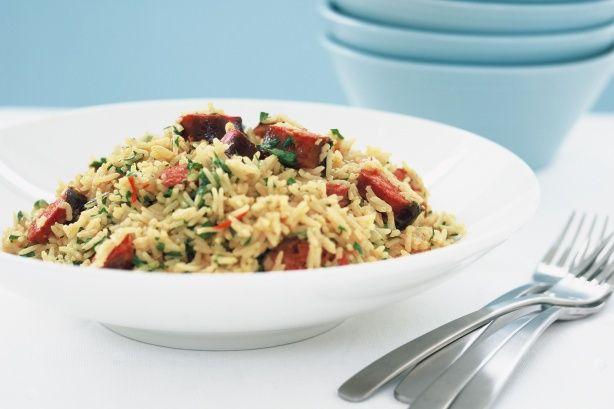 Chorizo Pilaf Recipe