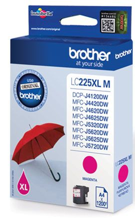 #Tinte #BROTHER #LC225XLM   Brother LC-225XLM Tintenpatrone  Magenta Brother MFC-J4420DW MFC-J4625DW ISO / IEC 24711 A4     Hier klicken, um weiterzulesen.  Ihr Onlineshop in #Zürich #Bern #Basel #Genf #St.Gallen